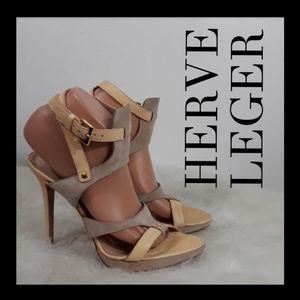 HERVE LEGER HEEL'S